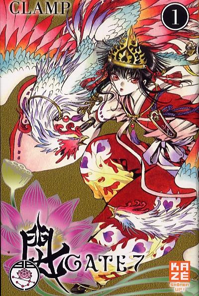 Gate 7 T1, manga chez Kazé manga de Clamp