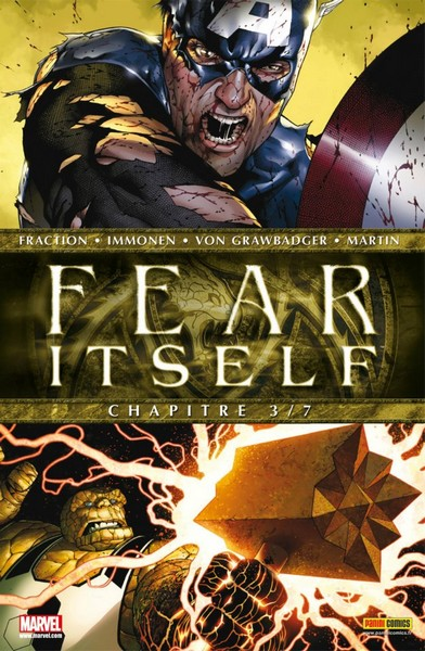 Fear Itself T3 : The hammer that fell on Yancy street (0), comics chez Panini Comics de Fraction, Chaykin, Milligan, Bonetti, Immonen, Delgado, Rauch, Martin, Molinar, McNiven