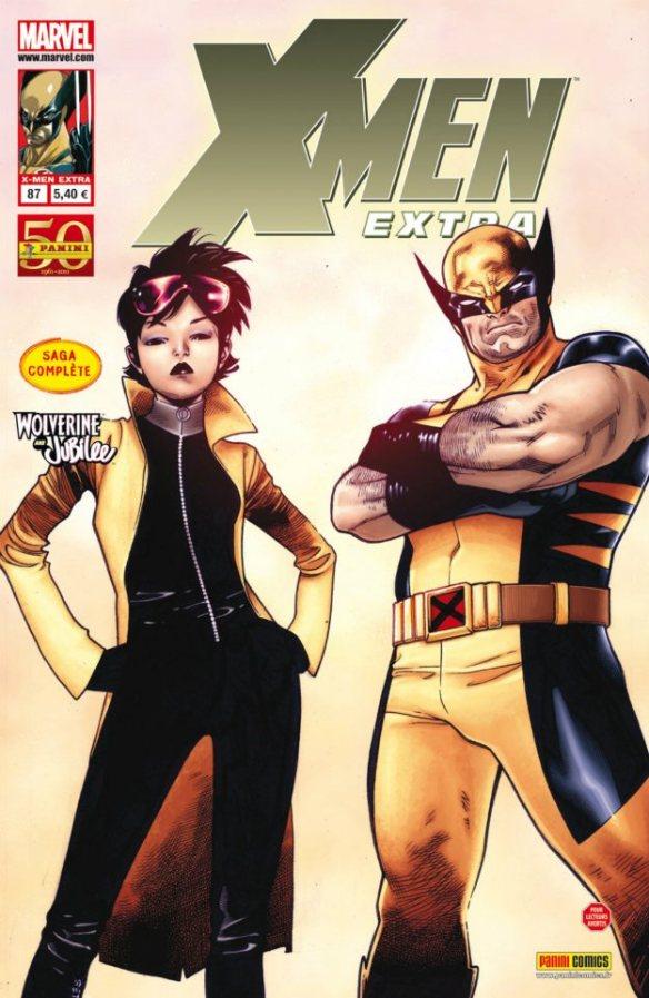 X-Men (revue) – Extra, T87 : Wolverine & Jubilé (0), comics chez Panini Comics de Immonem, Noto, Coipel