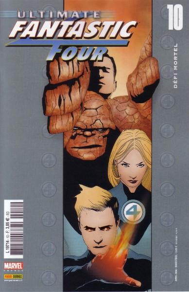 Ultimate Fantastic Four T10 : Défi mortel (0), comics chez Panini Comics de Carey, Lee, Chung