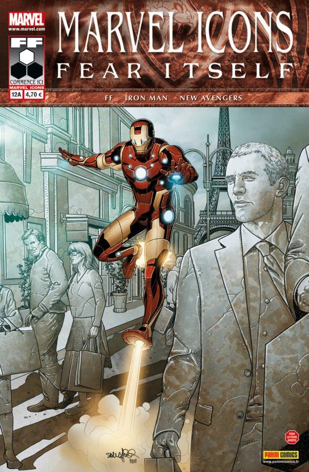 Marvel Icons T12 : Le club (0), comics chez Panini Comics de Fraction, Bendis, Hickman, Chaykin, Epting, Deodato Jr, Larroca, Beredo, Mounts, d' Armata, Delgado