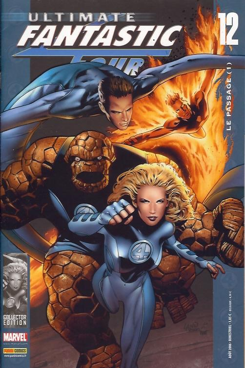 Ultimate Fantastic Four T12 : Le passage (1/2) (0), comics chez Panini Comics de Millar, Land, Ponsor