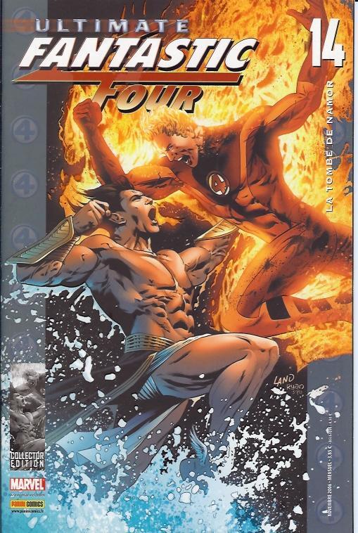 Ultimate Fantastic Four T14 : La tombe de Namor (0), comics chez Panini Comics de Millar, Land, Ponsor, Martin