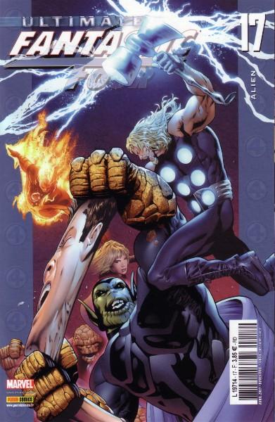 Ultimate Fantastic Four T17 : Alien (0), comics chez Panini Comics de Millar, Breitweiser, Land, Ponsor