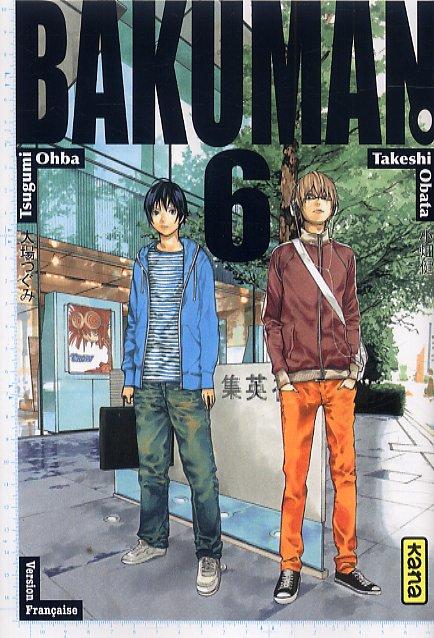 Bakuman T6, manga chez Kana de Ohba, Obata