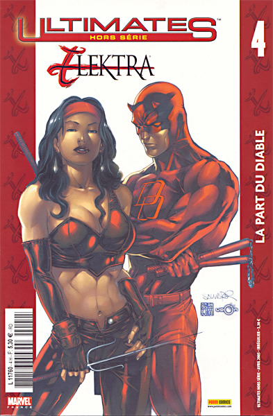 Ultimates – Hors série, T4 : Elektra - La part du diable (0), comics chez Panini Comics de Carey, Larroca, Liquid!