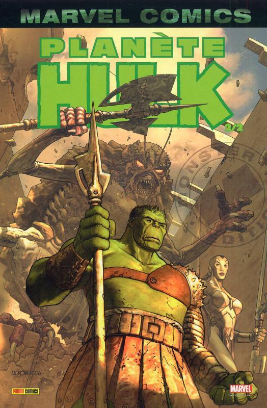 Hulk – Marvel Monster, T4 : Planète Hulk (2/2) (0), comics chez Panini Comics de Pak, David, Lopresti, Raiz, Pagulayan, Muniz, Frank, Nelson, Sotomayor, Ladrönn