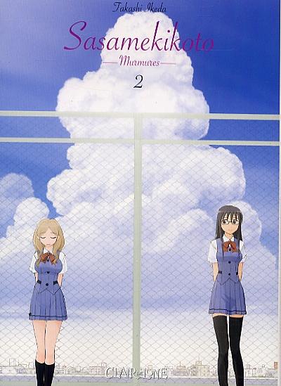 Sasamekikoto - Murmures T2, manga chez Clair de Lune de Ikeda
