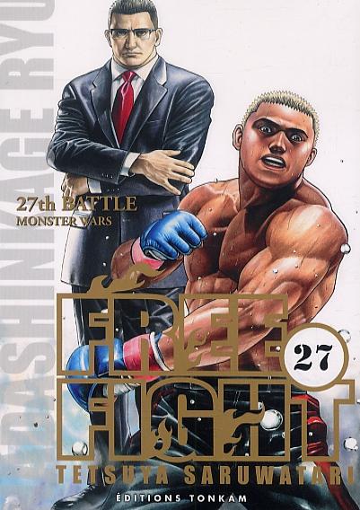 Free Fight - New tough T27, manga chez Tonkam de Saruwatari