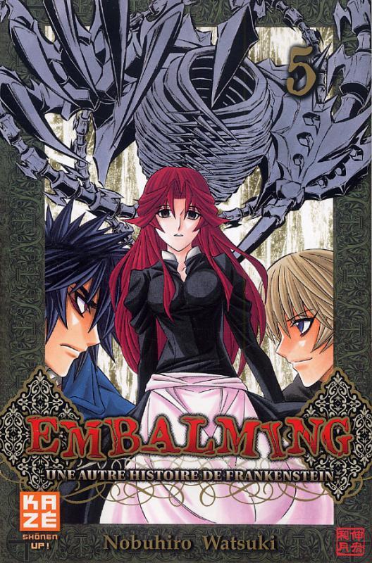Embalming - Une autre histoire de Frankenstein T5, manga chez Kazé manga de Watsuki