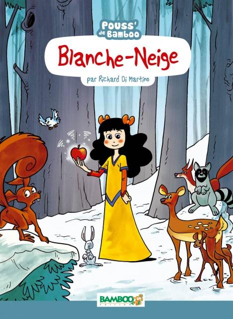 Blanche-Neige, bd chez Bamboo de Beney, Di Martino, Bonino