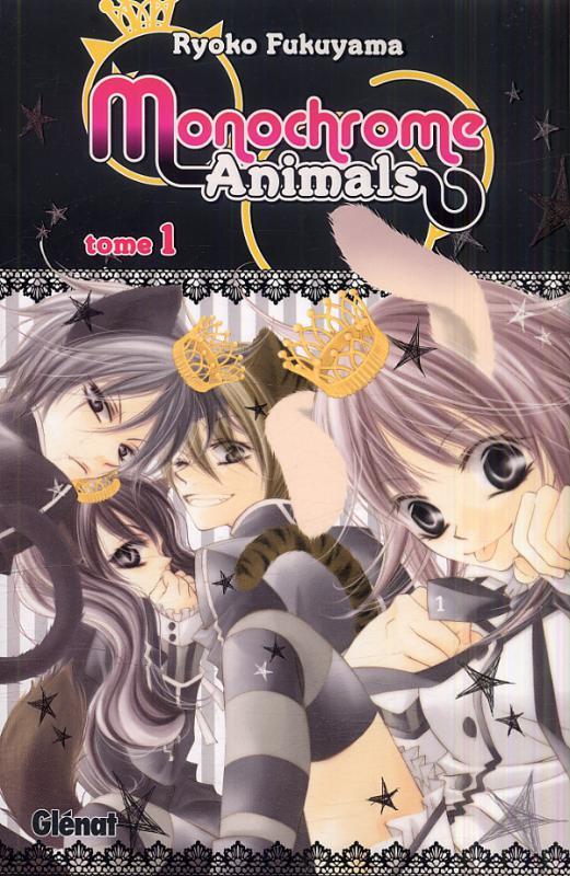 Monochrome animals T1, manga chez Glénat de Fukuyama