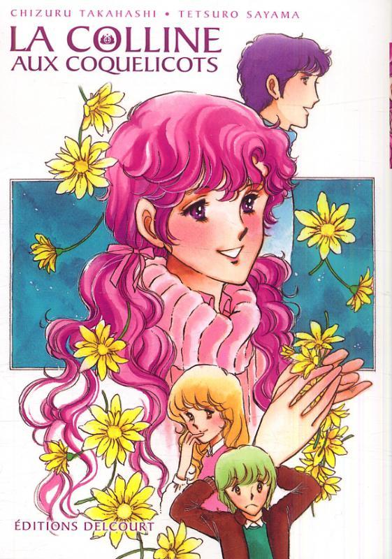 La Colline aux coquelicots, manga chez Delcourt de Sayama, Takahashi