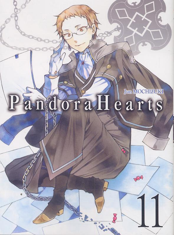 Pandora Hearts T11, manga chez Ki-oon de Mochizuki