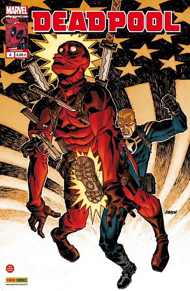 Deadpool (revue) – V 2, T8 : Je suis ton homme (0), comics chez Panini Comics de Way, Barbieri, Gracia, Johnson