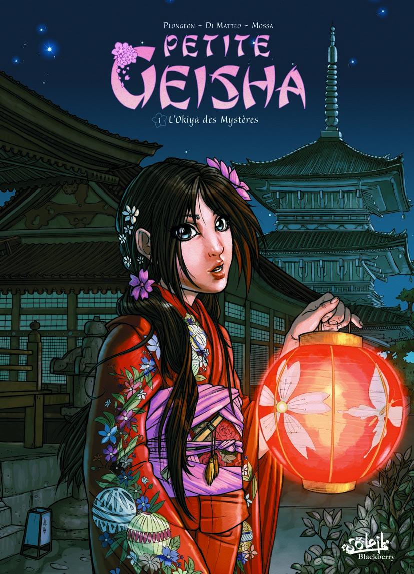 Petite Geisha T1 : L'Okiya des mystères (0), bd chez Soleil de Plongeon, Dimat, Studio yellowhale