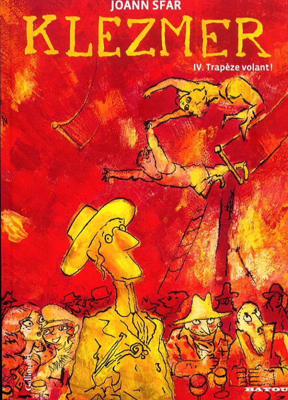 Klezmer T4 : Trapèze volant (0), bd chez Gallimard de Sfar