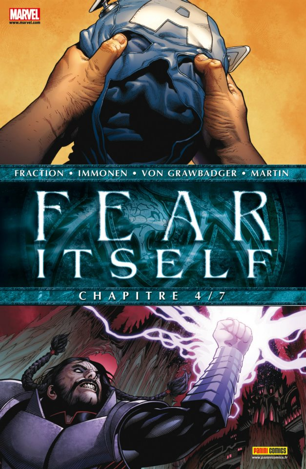 Fear Itself T4 : Worlds on fire (0), comics chez Panini Comics de Van Meter, Gage, Parker, Fraction, Tieri, Canete, Bonetti, Henry, Shalvey, Immonen, Chuckry, Martin, Rauch, Wilson, Martin jr