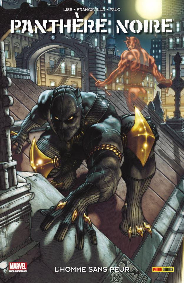 Panthère Noire T1 : L'homme sans peur (0), comics chez Panini Comics de Liss, Palo, Francavilla, Beaulieu, Bianchi