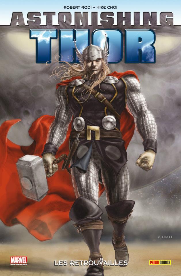 Astonishing Thor, comics chez Panini Comics de Rodi, Choi, d' Armata