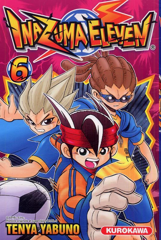 Inazuma eleven T6, manga chez Kurokawa de Yabuno