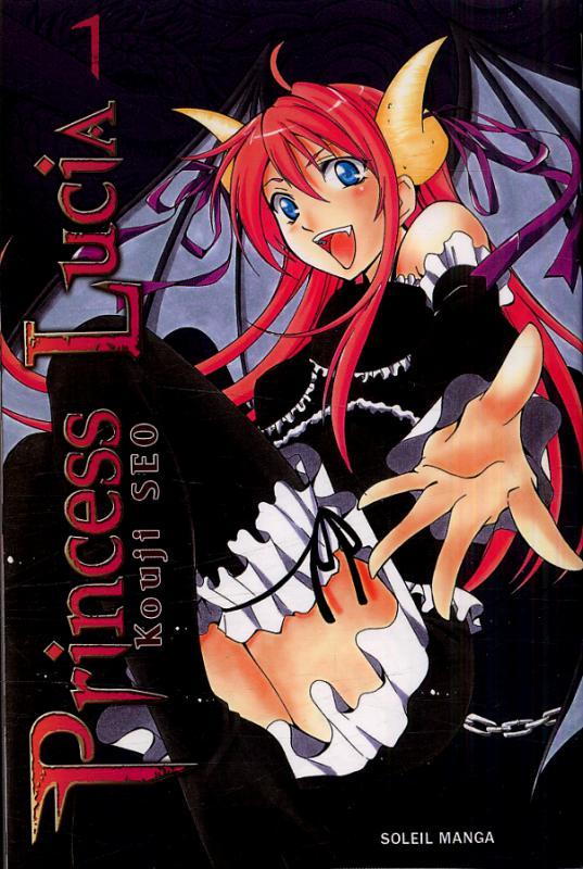 Princess Lucia T1, manga chez Soleil de Kouji