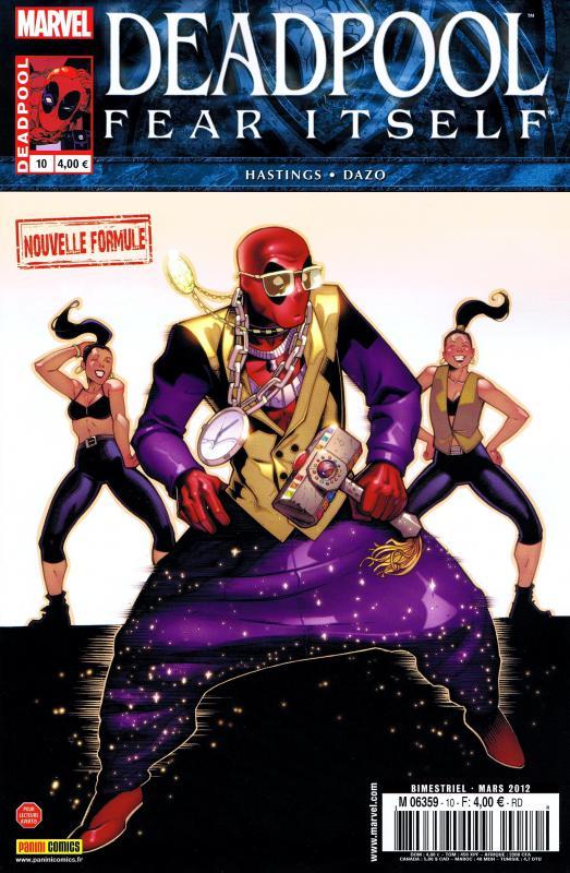 Deadpool (revue) – V 2, T10 : Fear Itself (2/2) (0), comics chez Panini Comics de Hastings, Haspiel, Dazo, Infunari, Milla, Stegman