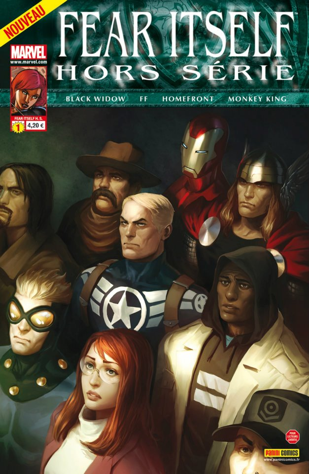 Fear Itself – Hors série, T1 : Ravages à Manhattan (0), comics chez Panini Comics de Fialkov, Van Lente, Bunn, Grummet, Nguyen, Vitti, Doe, Beredo, Gandini, Quintana, Tartaglia, Djurdjevic