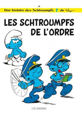 Les Schtroumpfs T30 : Les schtroumpfs de l'ordre (0), bd chez Le Lombard de Jost, Culliford, de Coninck, Culliford