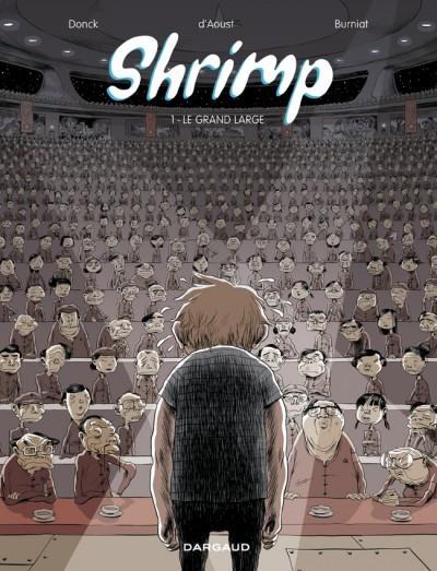 Shrimp T1 : Le grand large (0), bd chez Dargaud de d' Aoust, Donck, Burniat