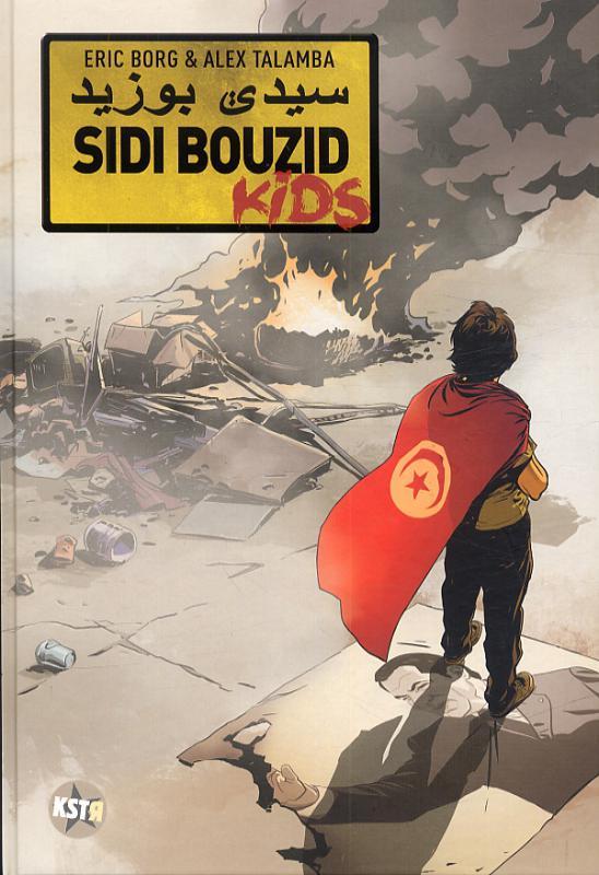 Sidi bouzid kids, bd chez Casterman de Borg, Talamba
