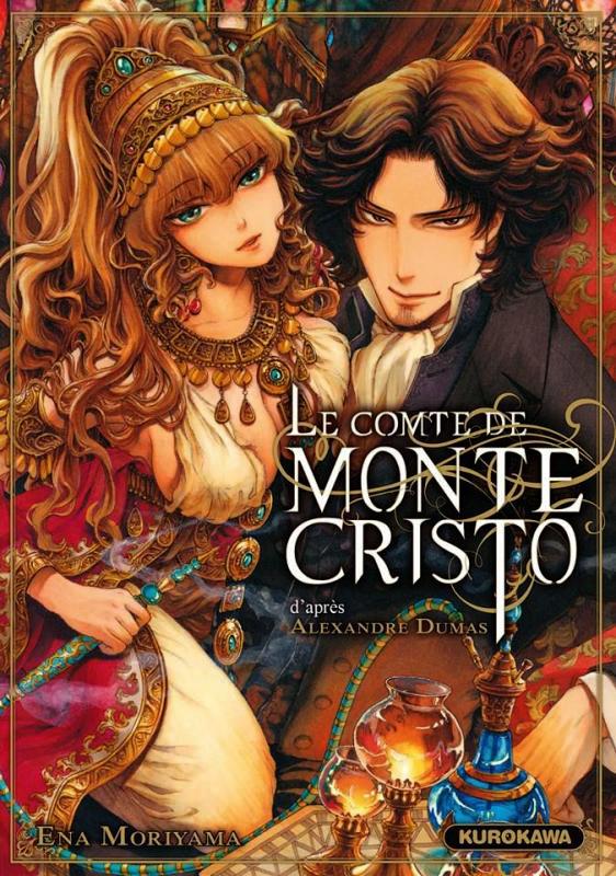 Le comte de Monte-Cristo, manga chez Kurokawa de Moriyama, Dumas