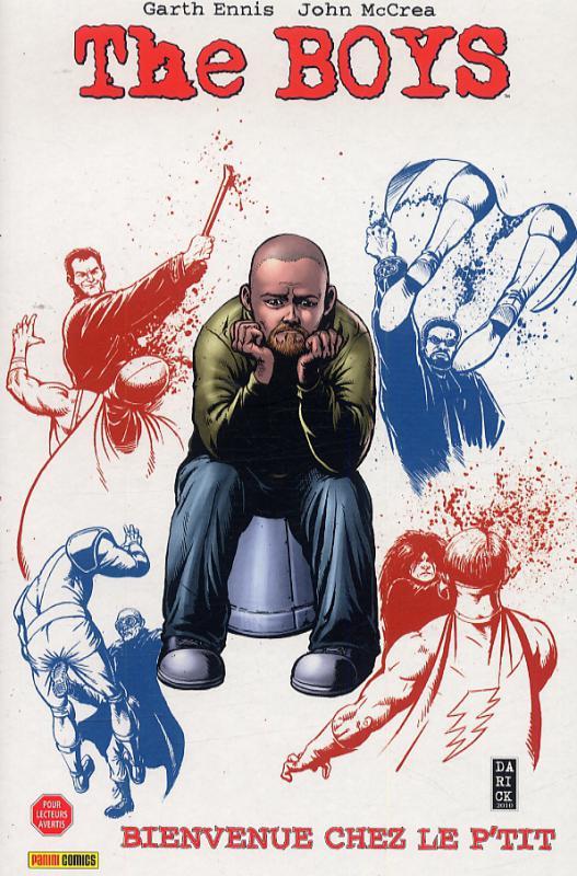 The Boys – édition souple, T13 : Bienvenu chez le P'tit (0), comics chez Panini Comics de Ennis, McCrea, Aviña, Robertson