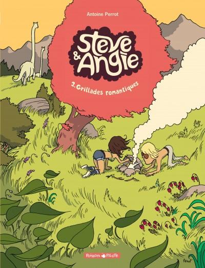 Les aventures de Steve et Angie T2 : Grillades romantiques (0), bd chez Dargaud de Perrot