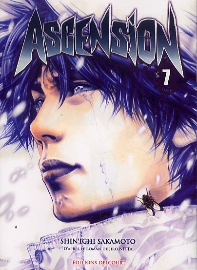 Ascension T7, manga chez Delcourt de Nabeta, Nitta, Sakamoto
