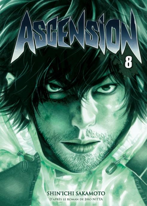 Ascension T8, manga chez Delcourt de Nabeta, Nitta, Sakamoto