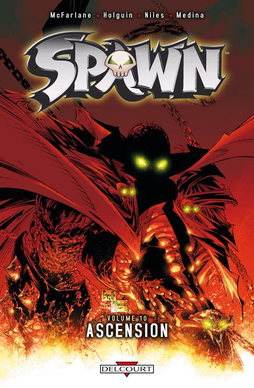 Spawn – Archives, T10 : Ascension (0), comics chez Delcourt de Holguin, McFarlane, Medina, Haberlin, Kemp, Capullo
