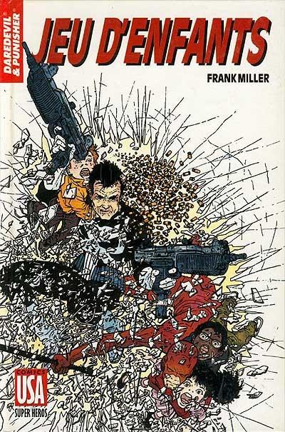 Daredevil - L'homme sans peur : Daredevil & Punisher - Jeu d'enfants (0), comics chez Glénat de Miller, Janson, Darrow
