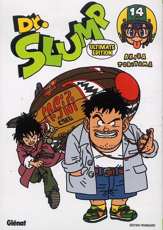 Dr Slump – Ultimate edition, T14, manga chez Glénat de Toriyama