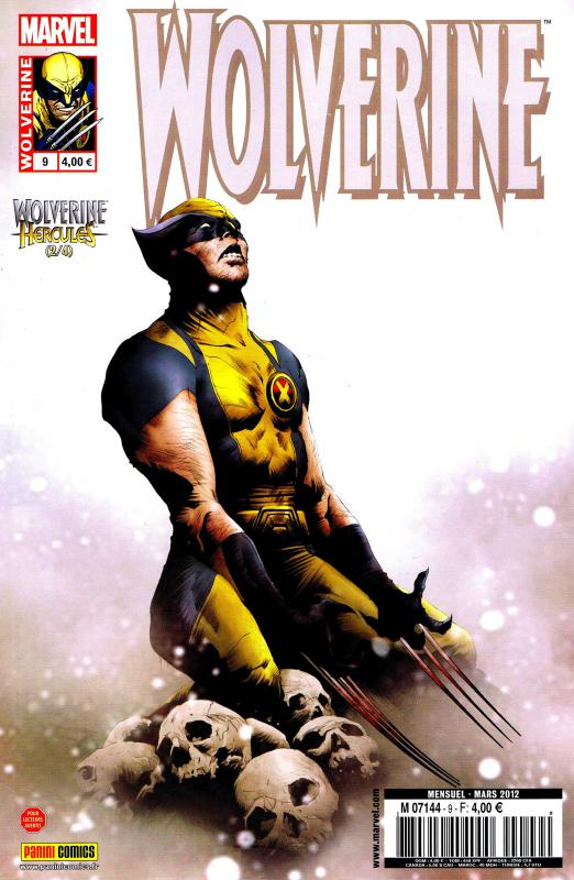 Wolverine (revue) – Revue V 2, T9 : Mythes, monstres et mutants (2/4) (0), comics chez Panini Comics de Tieri, Aaron, Santacruz, Guedes, Wilson, Baumann, Lee