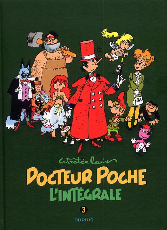 Docteur Poche T3 : 1984-1989 (0), bd chez Dupuis de Wasterlain