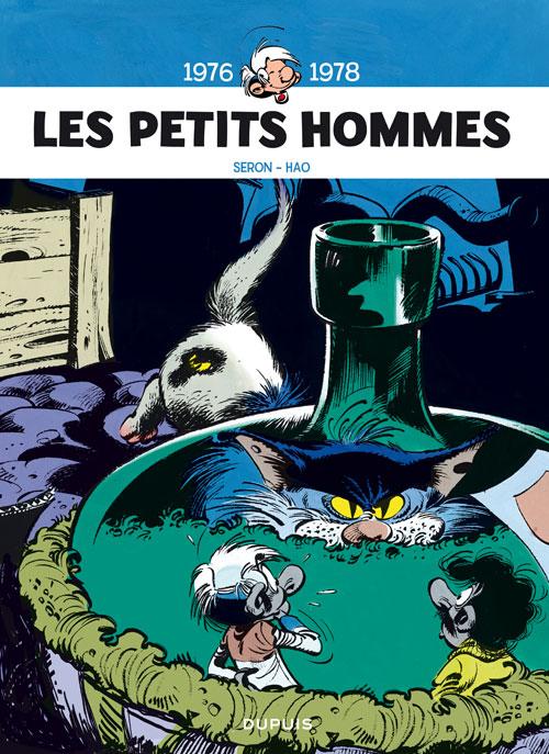 Les petits hommes T4 : 1976-1978 (0), bd chez Dupuis de Mittéi, Seron, Desberg