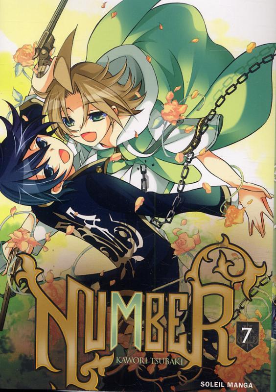 Number T7, manga chez Soleil de Tsubaki