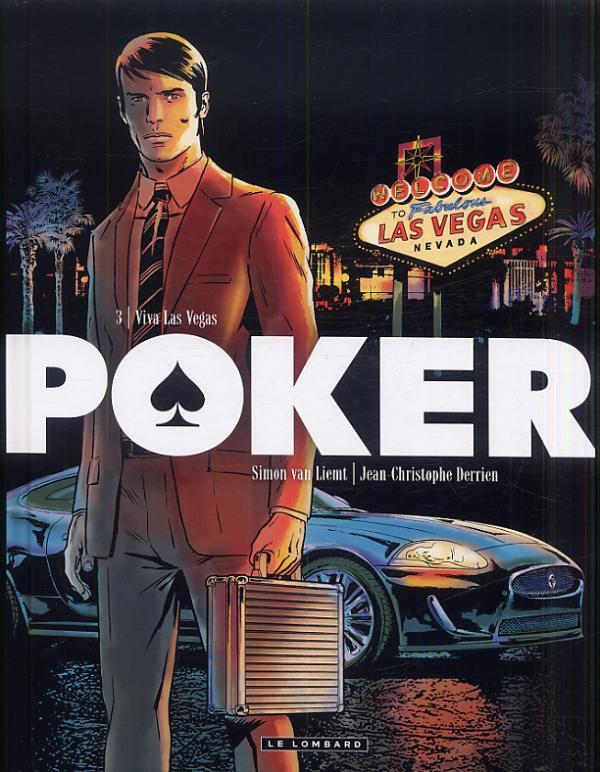 Poker T3 : Viva Las vegas (0), bd chez Le Lombard de Derrien, Van Liemt, Cesano