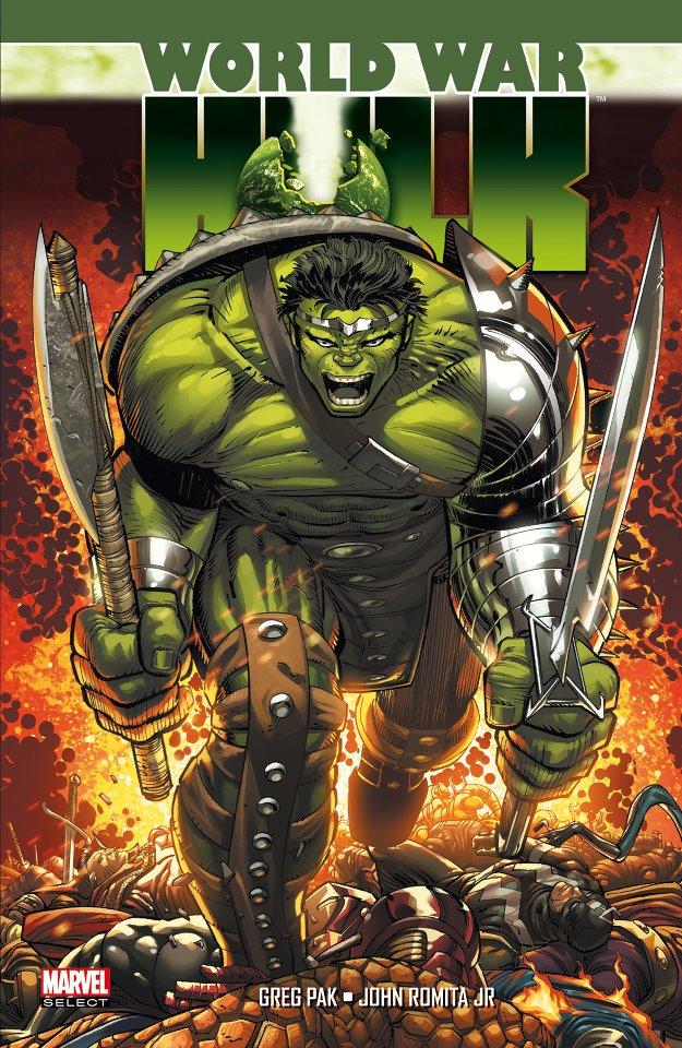 World War Hulk, comics chez Panini Comics de David, Pak, Romita Jr, Weeks, Rio, Phillips, Strain, Murai, Staples, Sandoval, Finch