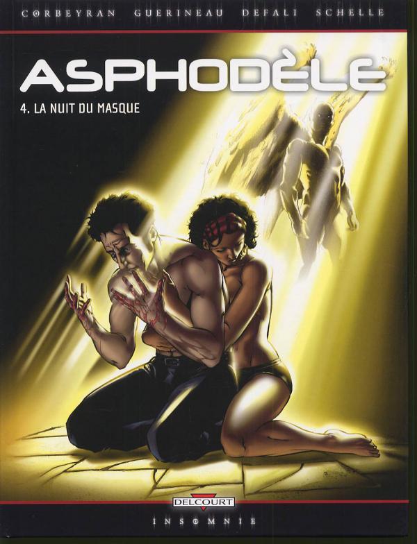 Asphodèle T4 : La Nuit du masque (0), bd chez Delcourt de Guerineau, Corbeyran, Defali, Schelle