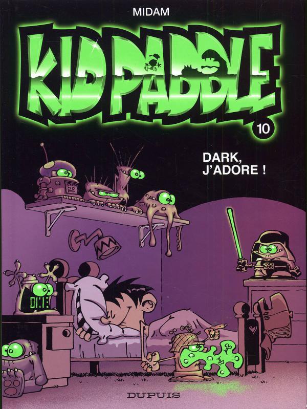 Kid Paddle T10 : Dark, j'adore ! (0), bd chez Dupuis de Midam, Angèle