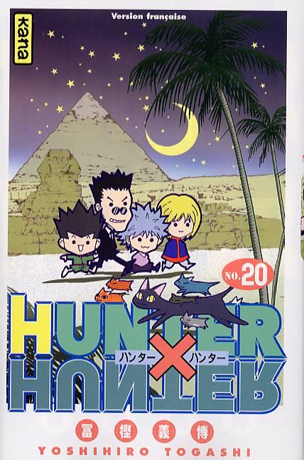 Hunter x Hunter T20, manga chez Kana de Togashi