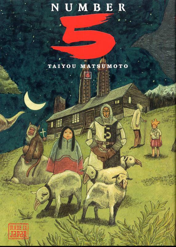 Number 5 T5, manga chez Kana de Matsumoto