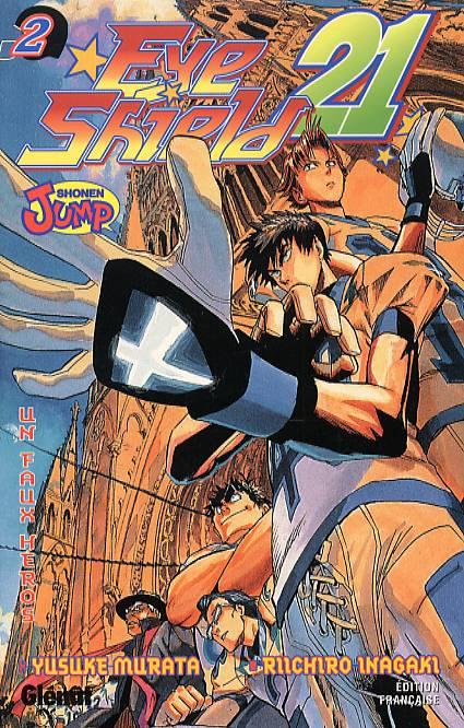 Eye Shield 21 T2, manga chez Glénat de Inagaki, Murata